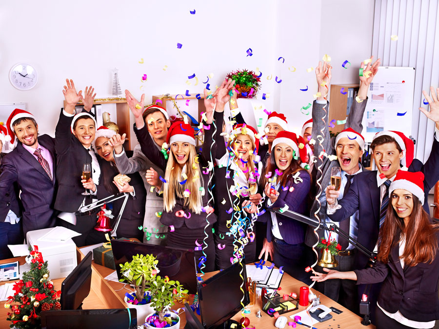 Christmas party in office